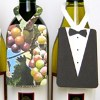 Little Wine Bottle Greeting Tags