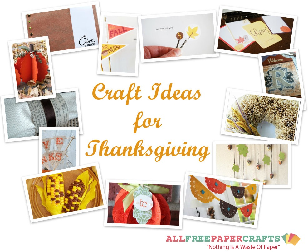 The Ultimate Collection Of Thanksgiving Paper Crafts 37