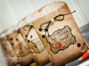 Spells and Potions Mini Halloween Treat Bags