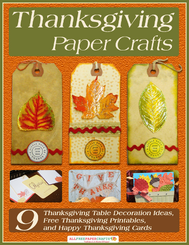 Thanksgiving paper crafts 9 thanksgiving table decoration Happy thanksgiving decorations