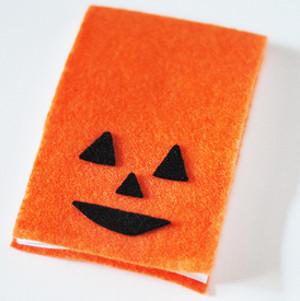 Pumpkin Paper Pad