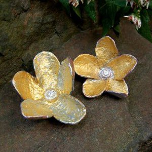 Golden Papier Mache Flowers Allfreepapercrafts Com
